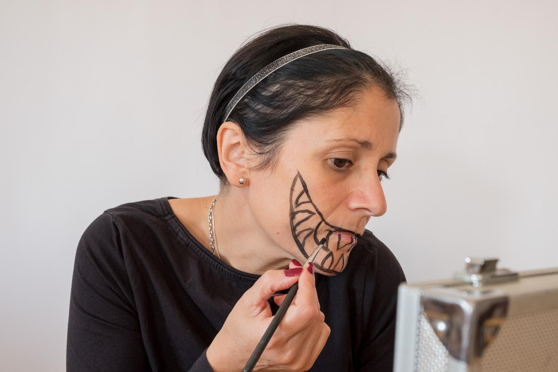 Maquillaje original para Halloween